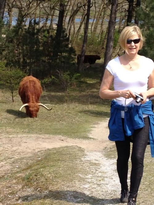 Deann Gets Chased by a Cow