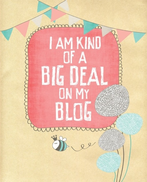 big deal blog