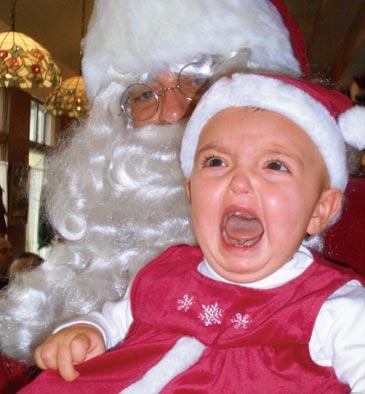 scared of santa 1
