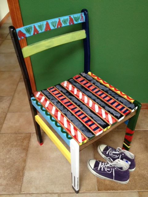chair paint