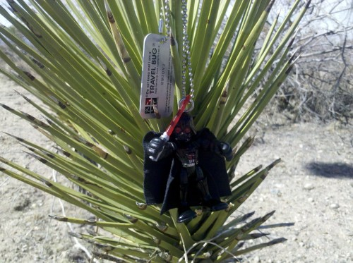 cache in the desert