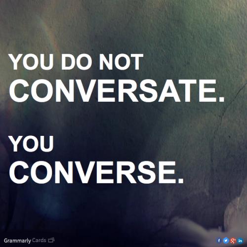 conversate