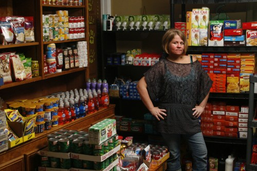 "Joyce has her own ""mini warehouse"" full of products"