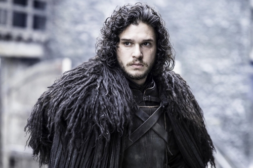 CANNOT USE UNTIL 12 AM 5/8/2015 *** TV STILL DO NOT PURGE *** Game of Thrones Season 5 Episode 5 Pictured: Kit Harington as Jon Snow Photographer: Helen Sloan/ courtesy HBO