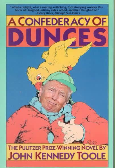 trump dunce